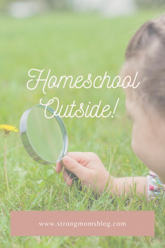 homeschool outside