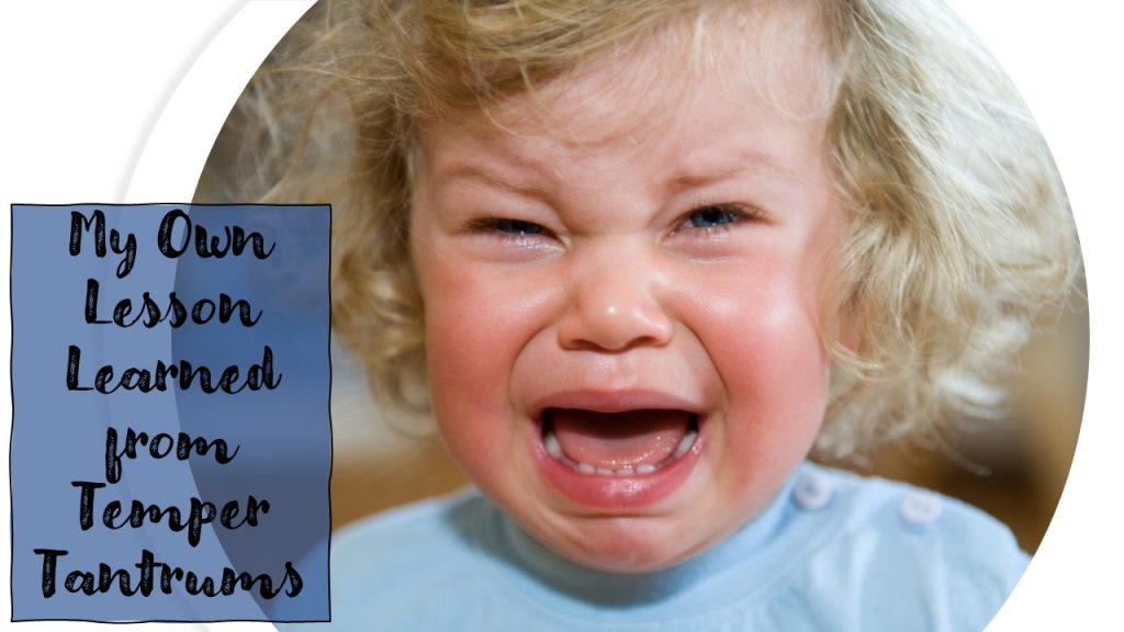 temper tantrum baby