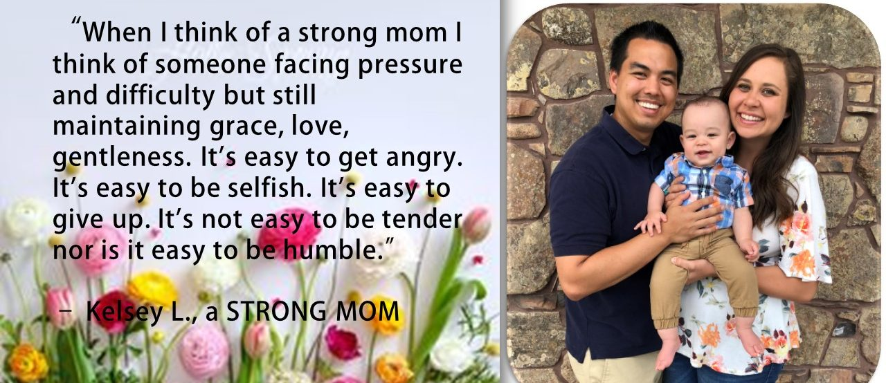 strong mom quote