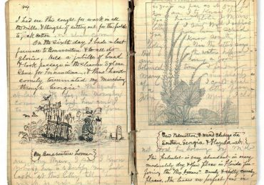 journal with art