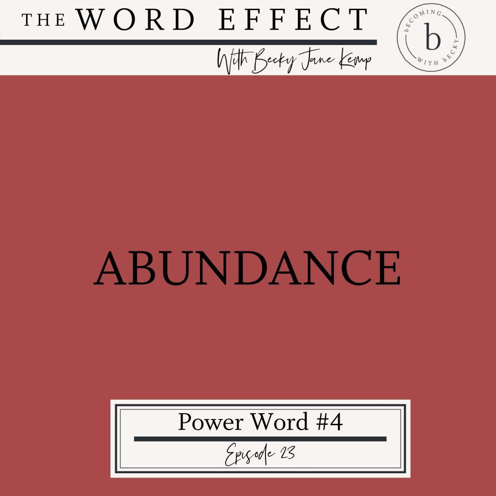 abundance podcast