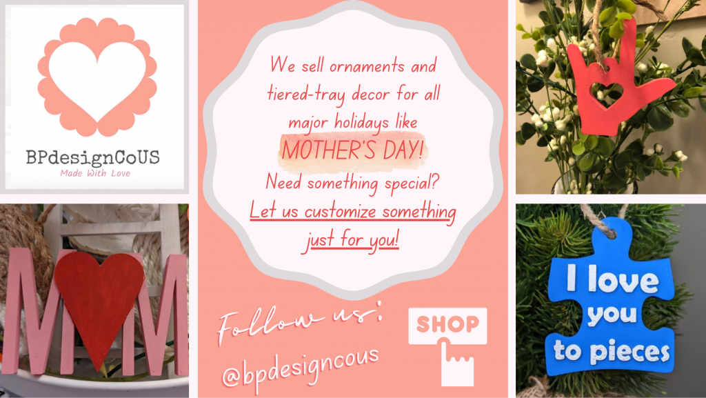 Paige's Mother's Day ad