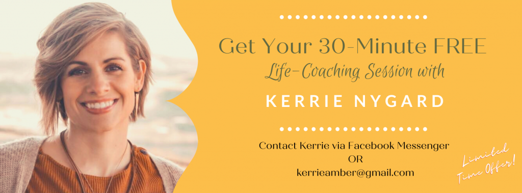 Kerrie's coaching ad - use